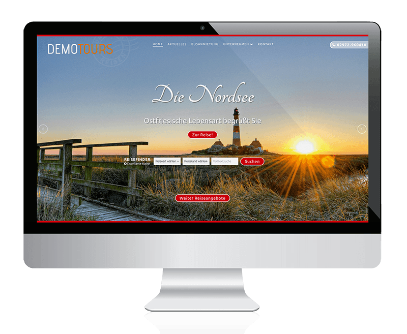 REISE-CMS DEMO-TOURS